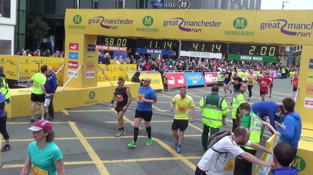 10k - finish line